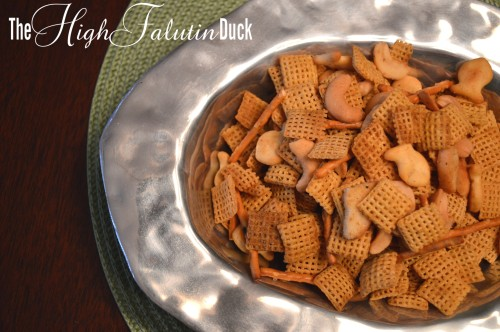 spicy chex