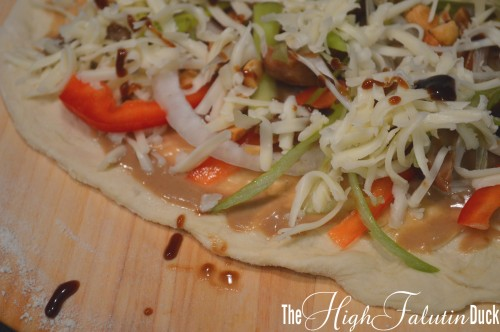 Thai Pizza prebaked