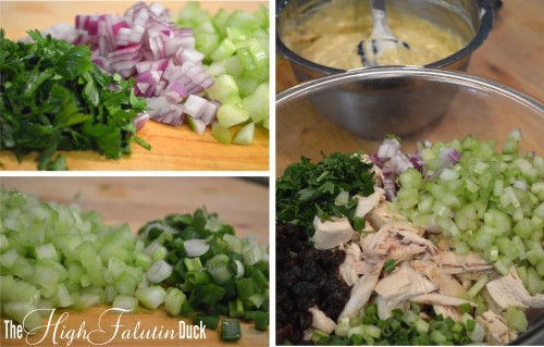 chicken salad fixins