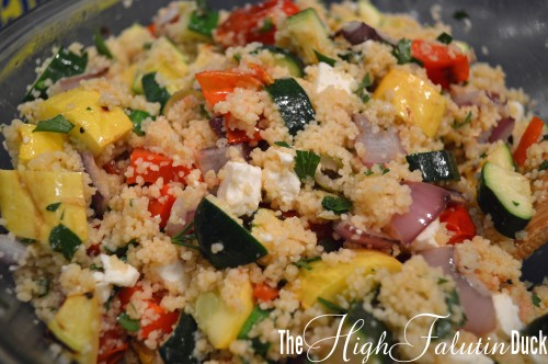 Grilled Vegetable couscous2
