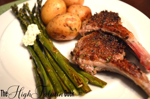 Herb Crusted Lamb Chops